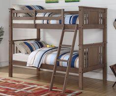 Donco Kids T/T Princeton Bunk Bed Slate Grey 316TTSG