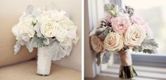 Love the pale pink.. much like my own bouquet from my wedding