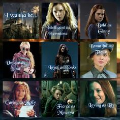 Everything potter girls wanna be