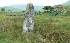 Branault standing stone, Ardnamurchan