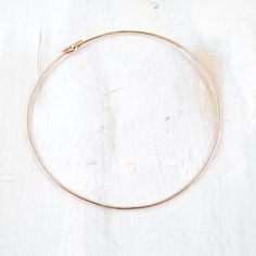 Rose+Gold+Bangle+Bracelet+Thin+Simple+Knot+Hammered+by+failjewelry,+$44.00