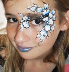 eye face painting for adults - Google Search