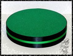 Green Stand - Lollipops or Cakepops Stand - Greem and Black Colors