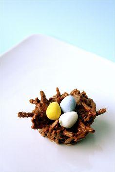 Chocolate Peanut Butter Birds Nest!