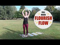 FULL MOON FLOW // 35 min Yoga Flow for Hips, Back, Shoulders, Circulation, Vitality   Intermediate - YouTube