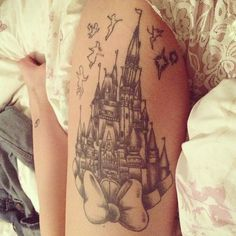 disney tattoo. Love this!
