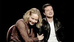Josh Hutcherson & Jennifer Lawrence - Joshifer - <3