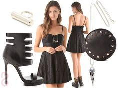 Alternative Rock Club Outfit - What to Wear to a Club: Outfit Ideas