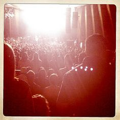 Kings of Leon show. I didn't hear a word of not one single song. Never going to another show from them. Sad.