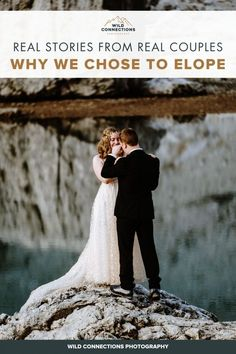 Why Do Couples Choose To Elope? | Wild Connections Photography Snow Wedding, Elope Wedding, Wedding Venues, Dream Wedding, Wedding Ceremony, Best Wedding Planner, Wedding Planning Tips, People Getting Married, Real Couples