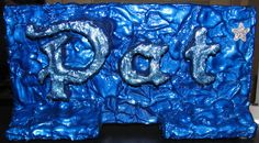 """Pat"" created by John R. Kohn using Durham's Rock Hard Putty. To contact the artist, email him at bluesinbflat@yahoo.com"