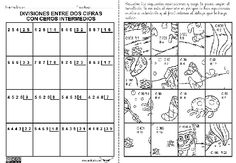 Ejercicios de division de dos cifras - Imagui