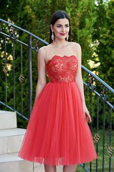 Rochie Ana Radu Tempting Invitation Red - http://hainesic.ro/rochii/rochie-ana-radu-tempting-invitation-red-dfe30decc-starshinersro/