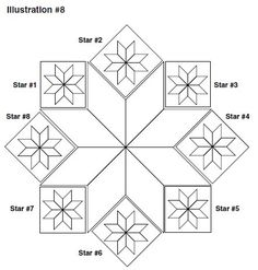 Blazing Star Quilt