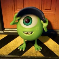 How adorable is baby Mike Wazowski in the new, and final trailer for Monsters University! Monsters University summary: Ever since . Kawaii Disney, Cute Disney, Baby Disney, Disney Pixar, Disney Characters, Mike From Monsters Inc, Monsters Ink, Little Monsters, Monster University