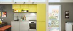 Small colourful kitchen #kitchen
