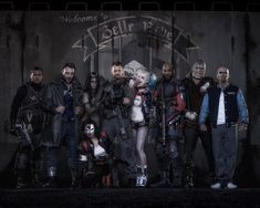 """BUZZFEED (POSTED BY JAVIER MORENO) THE FIRST GROUP PHOTO OF DAVID AYER'S """"SUICIDE SQUAD"""" HAS BEEN RELEASED"""