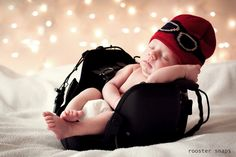 "Baby Aviator - photo by Rooster Snaps. Look for and ""LIKE"" Rooster Snaps on Facebook!"