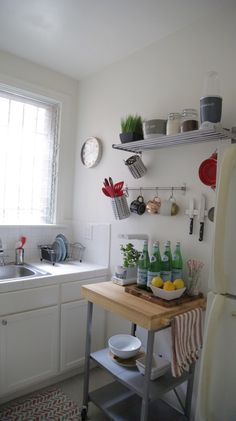 When it comes to having a spatially challenged kitchen, you have to consider all of your options when it comes to storage. Having an ever-growing collection of cookware, dishes, and kitchen gadgets that my cabinets could…