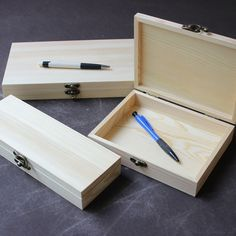 Office Organizer Stationery Wooden Box  For Holding Certificate 3 size to Choose Can Be Customized