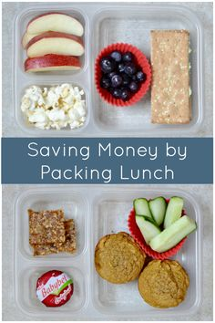 Saving Money by Packing Lunch | Real Food Real Deals #healthy #recipe #lunch
