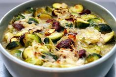 Brussels Sprouts and Chestnuts in Brown Butter Sauce - Smitten Kitchen Vegetable Side Dishes, Vegetable Recipes, Vegetarian Recipes, Thanksgiving Side Dishes, Thanksgiving Recipes, Thanksgiving 2020, Healthy Cooking, Cooking Recipes, Healthy Food