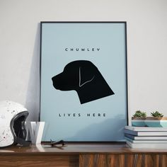 Labrador custom print