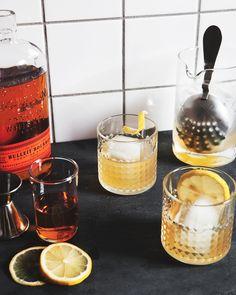 Honey & Elderflower Old Fashioned — a Better Happier St. Sebastian