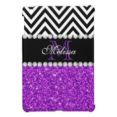 PURPLE GLITTER BLACK CHEVRON MONOGRAMMED iPad MINI CASE online after you search a lot for where to buyDiscount Deals          	PURPLE GLITTER BLACK CHEVRON MONOGRAMMED iPad MINI CASE Review on the This website by click the button below...