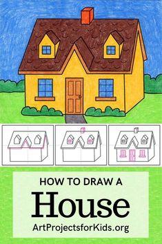 Art Drawings For Kids, Kids Artwork, Drawing For Kids, Easy Drawings, Art For Kids, School Art Projects, Projects For Kids, Art School, Background For Powerpoint Presentation