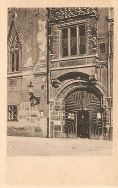 Portál Mestského domu 1920 Bratislava, Panama, Taj Mahal, Country, Places, Photography, Travel, Times, Beautiful