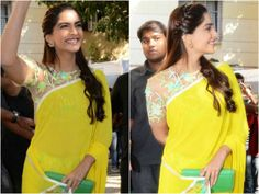 I am constantly coveting Sonam's style