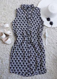 Kup mój przedmiot na #Vinted http://www.vinted.pl/damska-odziez/krotkie-sukienki/8160497-luzna-prosta-sukienka-w-palmy