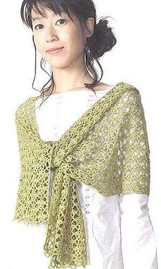 Shawl/Wrap: free pattern by rosario
