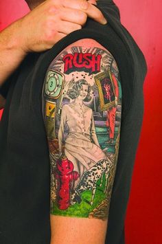 Rush tattoo