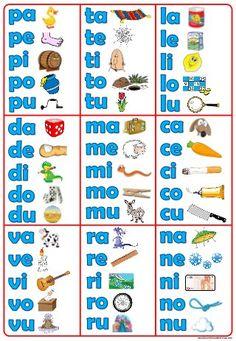 Spanish 1 Chapter 0 Cabula silabas - FREE - silabas posters in Spanish Bilingual Centers, Bilingual Kindergarten, Bilingual Classroom, Bilingual Education, Spanish Classroom, Preschool Spanish, Spanish Lessons For Kids, Elementary Spanish, Spanish Language Learning