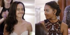 Prepare to Feel Things When You See Malia and Sasha Obama at Their First State Dinner - Cosmopolitan.com