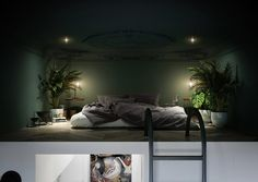 Oh my Bosch! , small studio apartment by Justyna Wasiluk - interiors.homeandwood.pl, Lublin, Poland, 2017