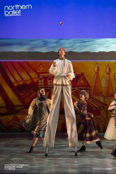 Sebastian Loe in Cinderella. Photo Bill Cooper. northernballet.com/cinderella