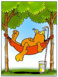 Garfield....great idea!