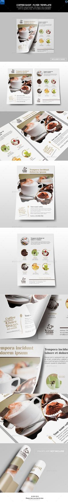Coffee Shop - Flyer Template