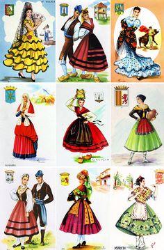 История женского костюма: Испания - Путешествия - Путешествия на сайте ИЛЬ ДЕ БОТЭ