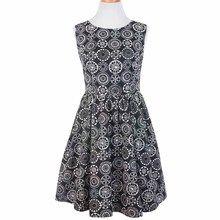 Fair Trade Cameo Dress Black
