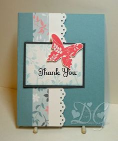 Dawns Stamping Studio: Simple Thank you card ..