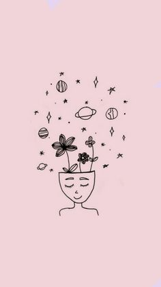 35 Cool Easy Whimsical Drawing Ideas // Things to draw, eye drawing, easy drawing ideas Cute Wallpaper Backgrounds, Tumblr Wallpaper, Pink Wallpaper, Aesthetic Iphone Wallpaper, Disney Wallpaper, Cute Wallpapers, Aesthetic Wallpapers, Aztec Wallpaper, Iphone Backgrounds