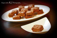 24 Cream Cheese Dark Chocolate Cocoa Brownies by ShannonsSugarFree, $20.00