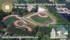 Canadian Baseball Hall of Fame in St.Marys, Ontario