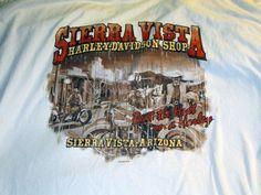 SIERRA VISTA ARIZONA Harley Davidson Shirt 2XL XXL White cotton Beat The Heat #HarleyDavidson #GraphicTee