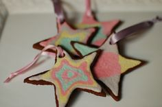 cinnamon ornaments, Christmas crafts, Christmas crafts for kids