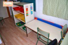 El baúl de A.L: Nuevo rincón Teach en el aula ordinaria o de apoyo... Classroom Floor Plan, Ideas Para, Corner Desk, Flooring, Teaching, How To Plan, Furniture, Home Decor, 1